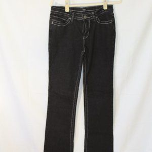 a.n.a Boot-cut black  jeans size 8 ultra tal